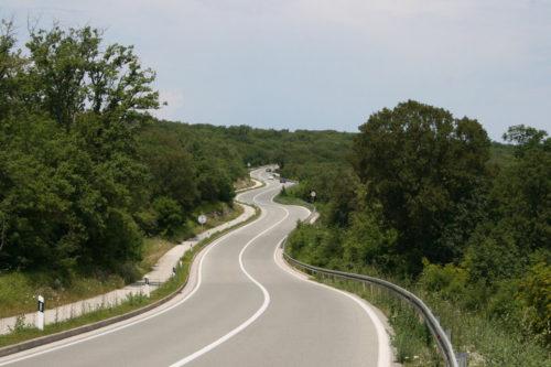 Road D102 - island Krk 6