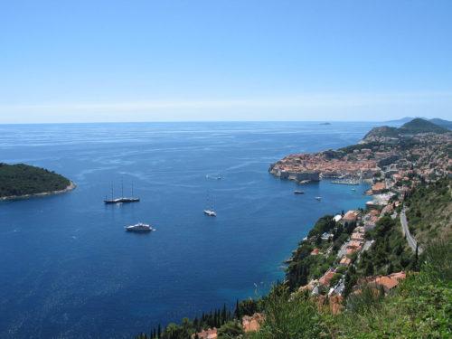 Town Dubrovnik landscape - seascape (2)